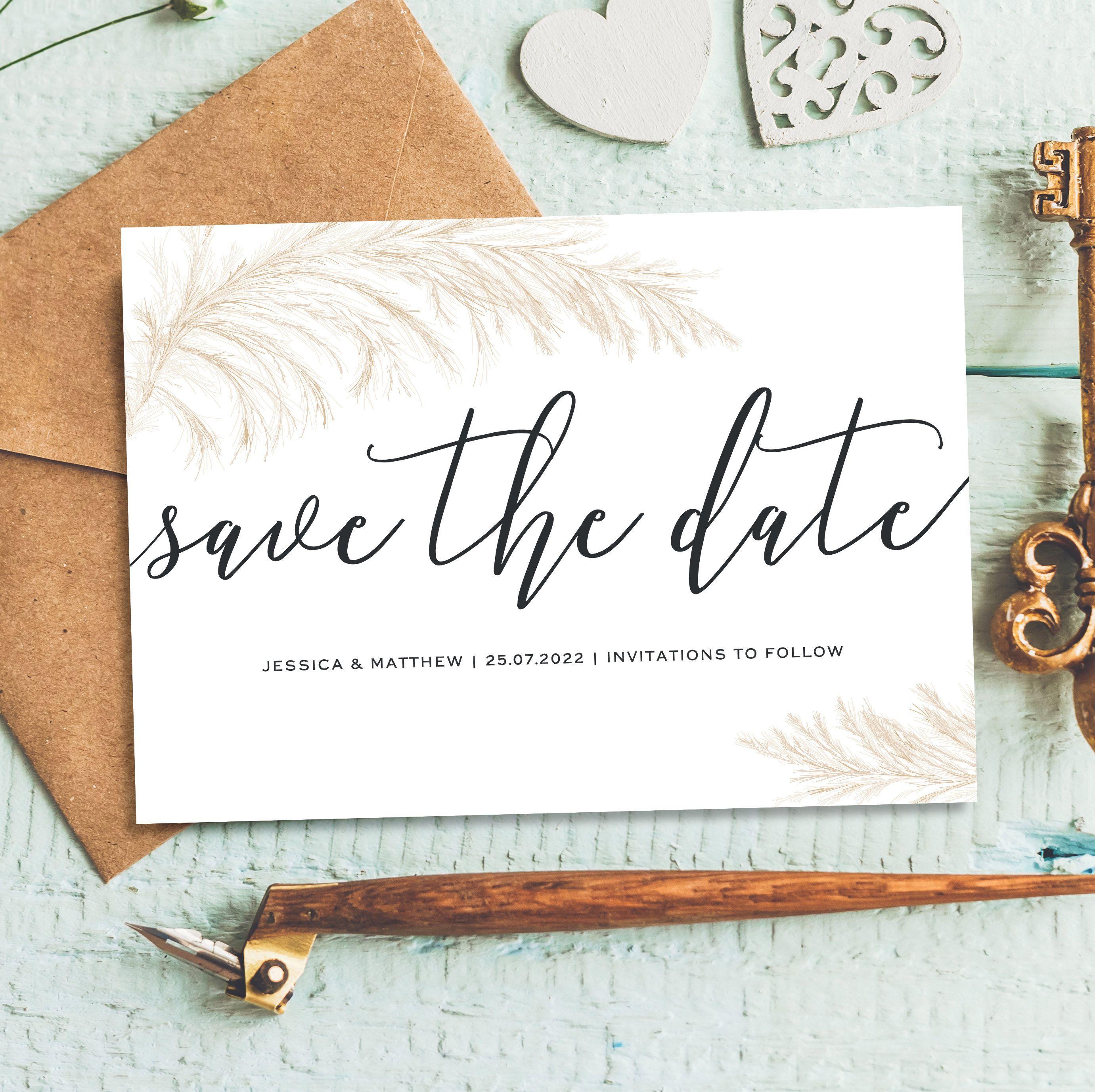 Kraft Lights Save The Date Modern Save The Date Postcard Etsy In 2020 Wedding Saving Wedding Save The Dates Save The Date Cards