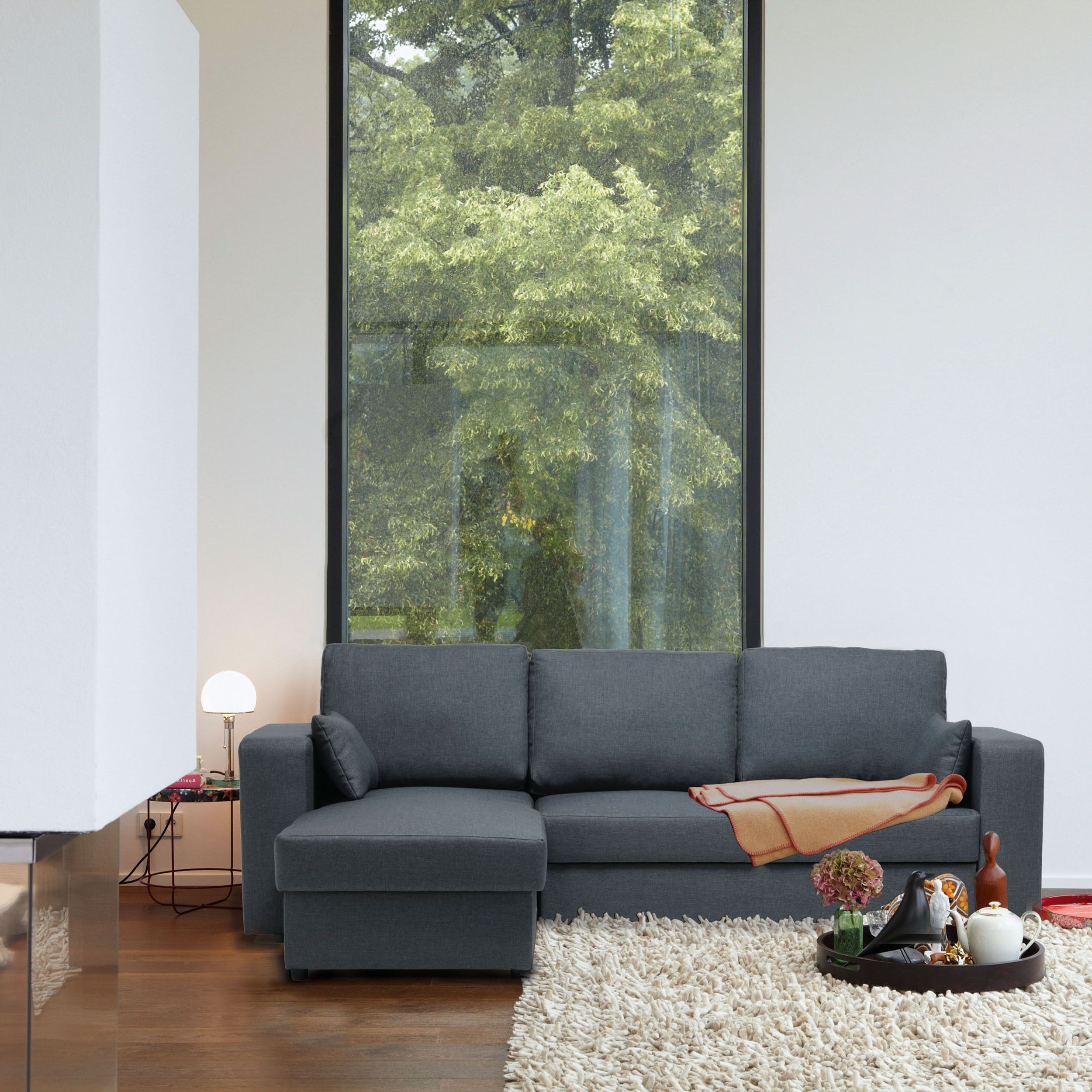 neubrugge sofa mit longchair im ikarus design shop gem tliche couch f r alle belange lounge. Black Bedroom Furniture Sets. Home Design Ideas