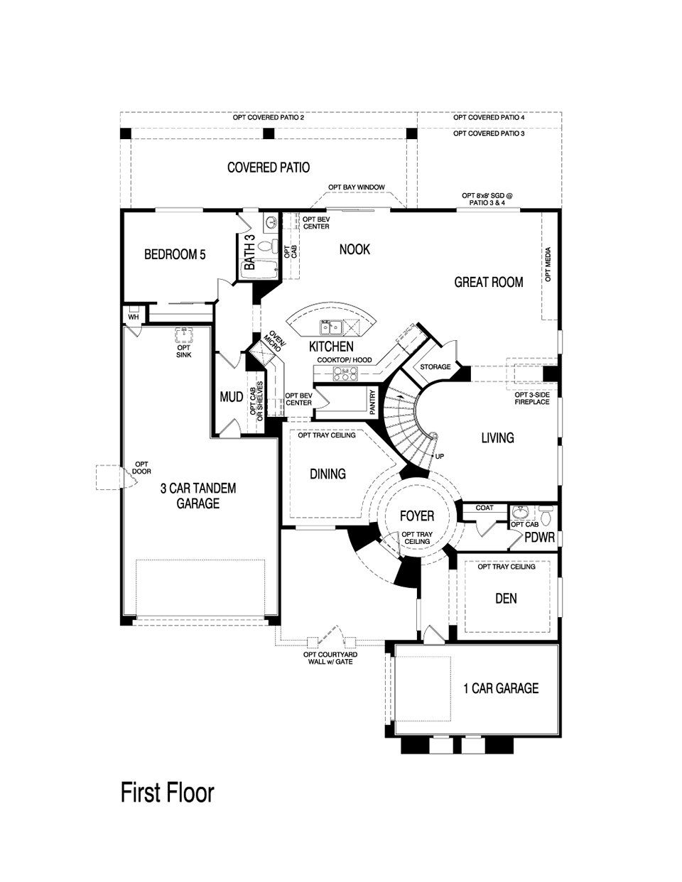 Pulte Homes Aspen Floor Plan Via