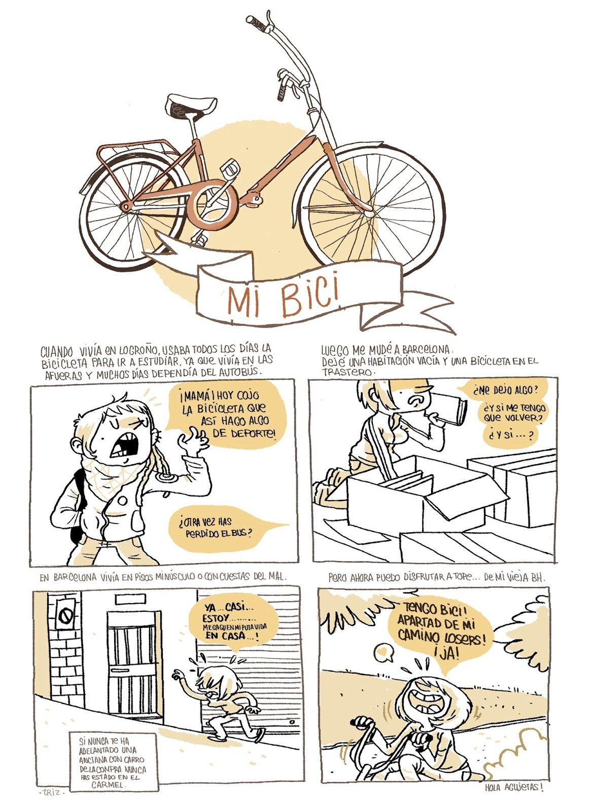 Mi bici, por Bea Tormo.