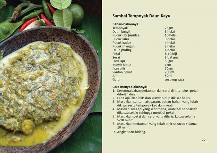Sambal tempoyak daun kayu malaysian delicacies pinterest sambal tempoyak daun kayu forumfinder Image collections