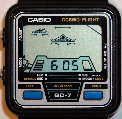 1984 Casio Game Watch  09403890a8