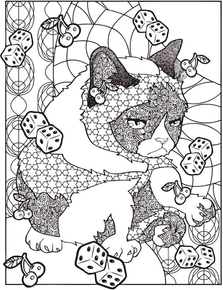 Dover Creative Haven Grumpy Cat Hates Coloring 3 Cat Coloring Book Cat Coloring Page Coloring Books