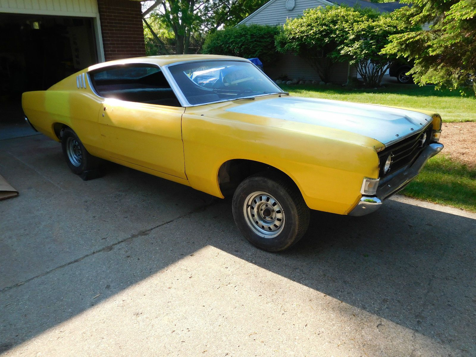 1969 Ford Fairlane Fastback Project Car Maintenance/restoration of ...
