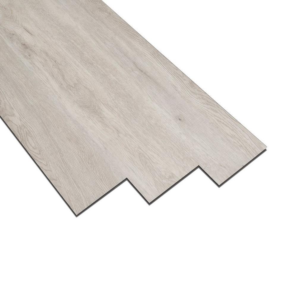Casa moderna silver gray oak luxury vinyl plank 4mm for Casa moderna flooring