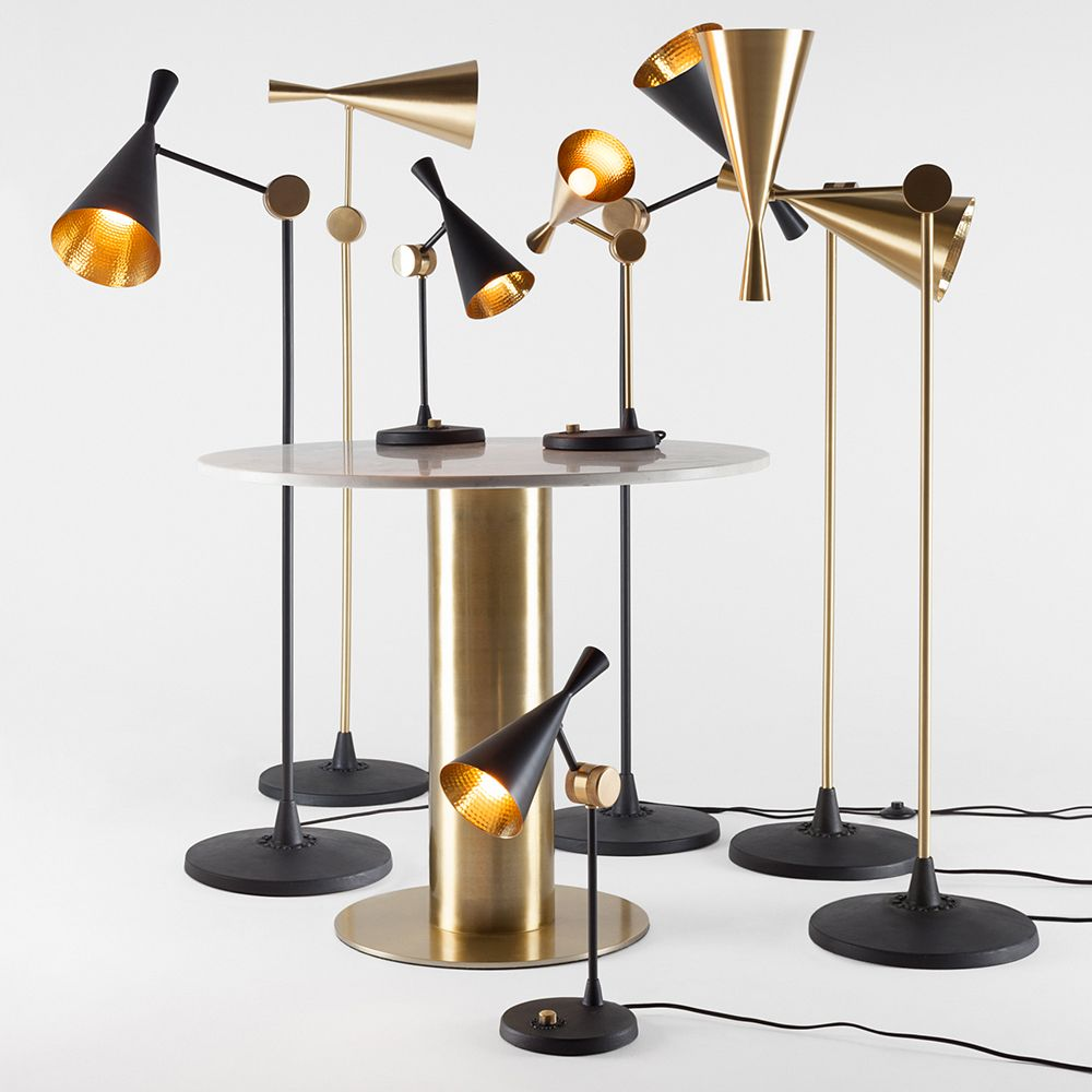 Beat Floor Lamp Is Inspired By The Sculptural Simplicity Of Traditional Water Vessels Used In India And Incorporates Th Metal Table Lamps Floor Lamp Table Lamp