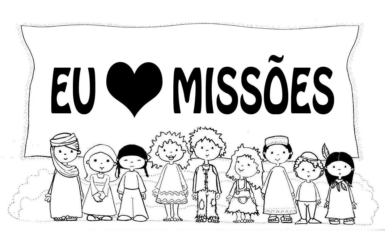 Extremamente Ensinando Missões para Crianças    .. ..: Novos desenhos  IP19