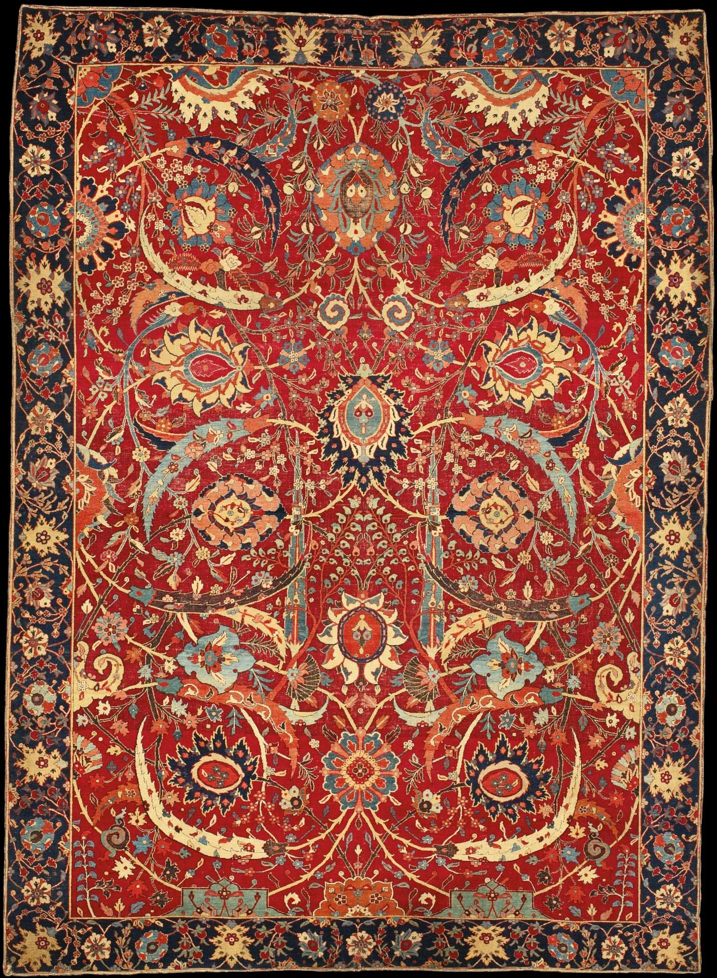 Nazmiyal Collection Nyc Historical Event 34 000 Vase Carpet S At Sotheby Top 10 Most Expensive Carpets In The World Ziegler Mahal 3