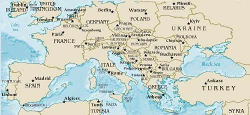 Map of countries that will FIGHT Jesus Second Coming  Bible