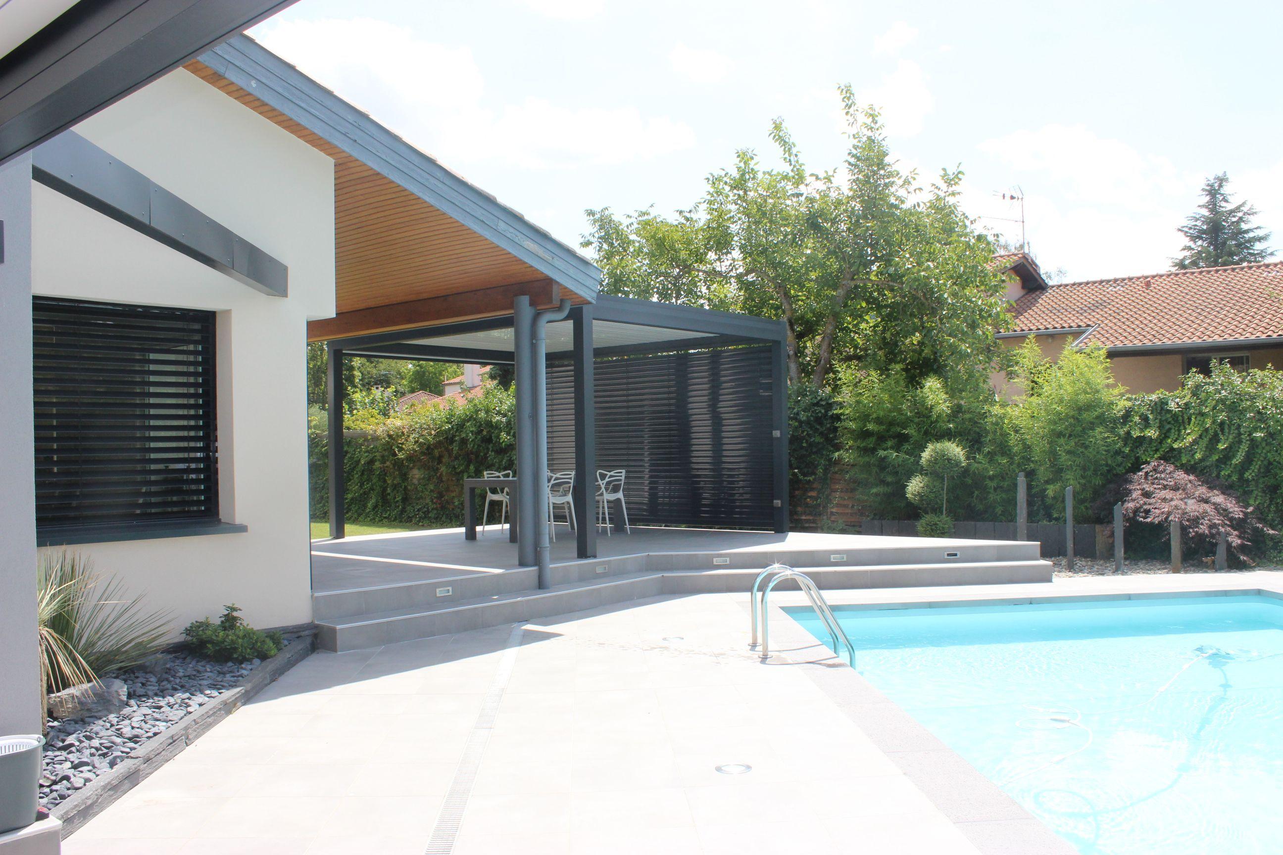 am nagements paysagers et pergolas autour d 39 une piscine atelier sc nario pinterest. Black Bedroom Furniture Sets. Home Design Ideas