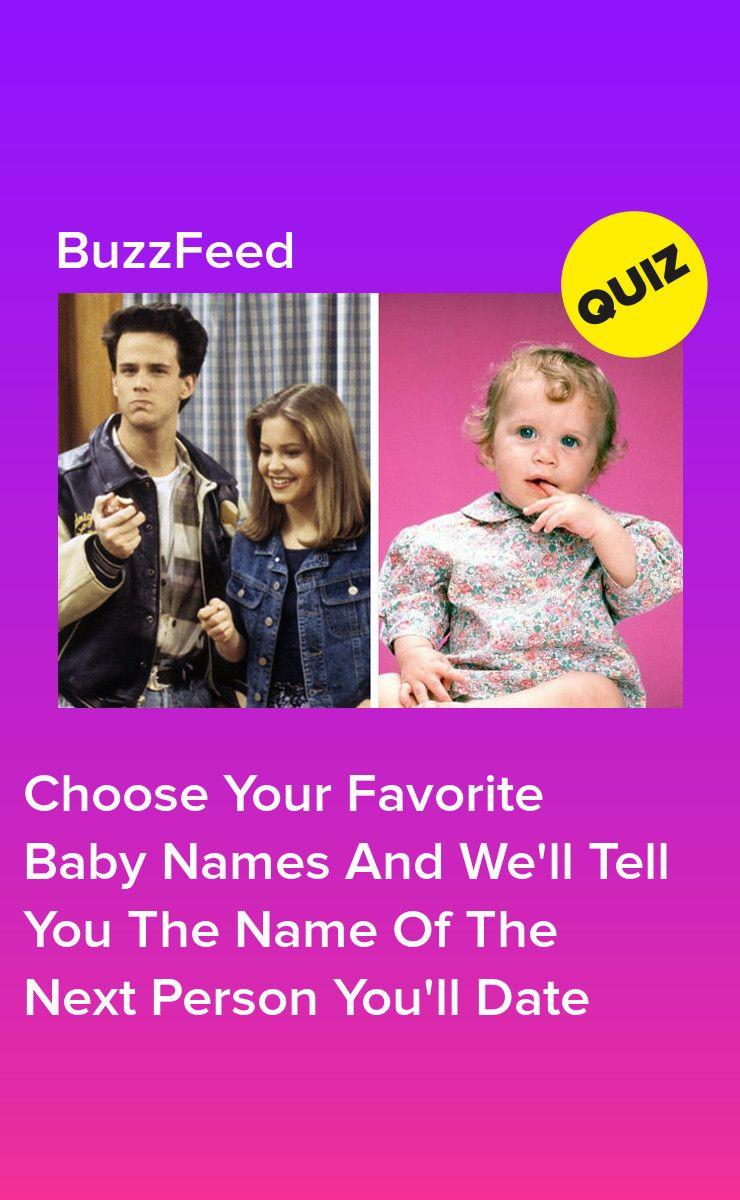 Dating nimi Quiz