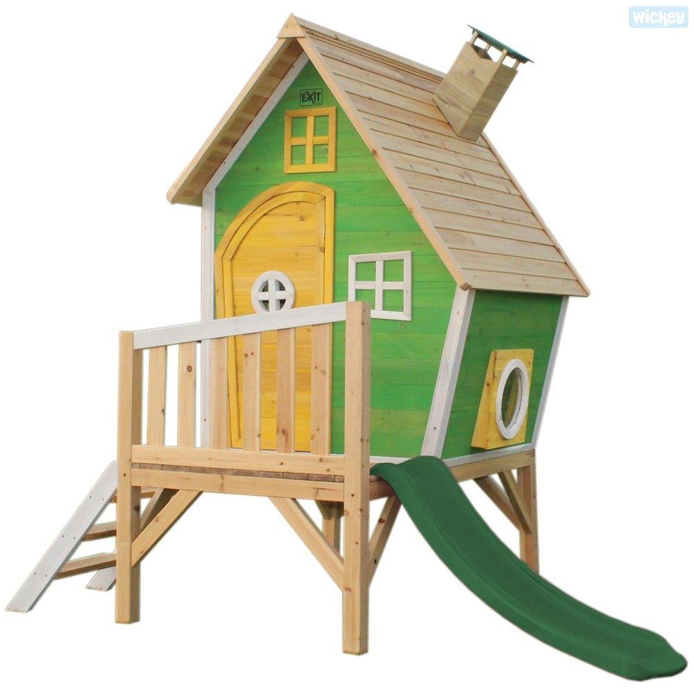 Spielhaus Lustiges Farbenfrohes Design Spielhaus Mit Frohlicher Ausstrahlung Wickey Online Shop Ein Grosse Auswahl Spi Spielhauser Spielhaus Aus Holz Spielhaus
