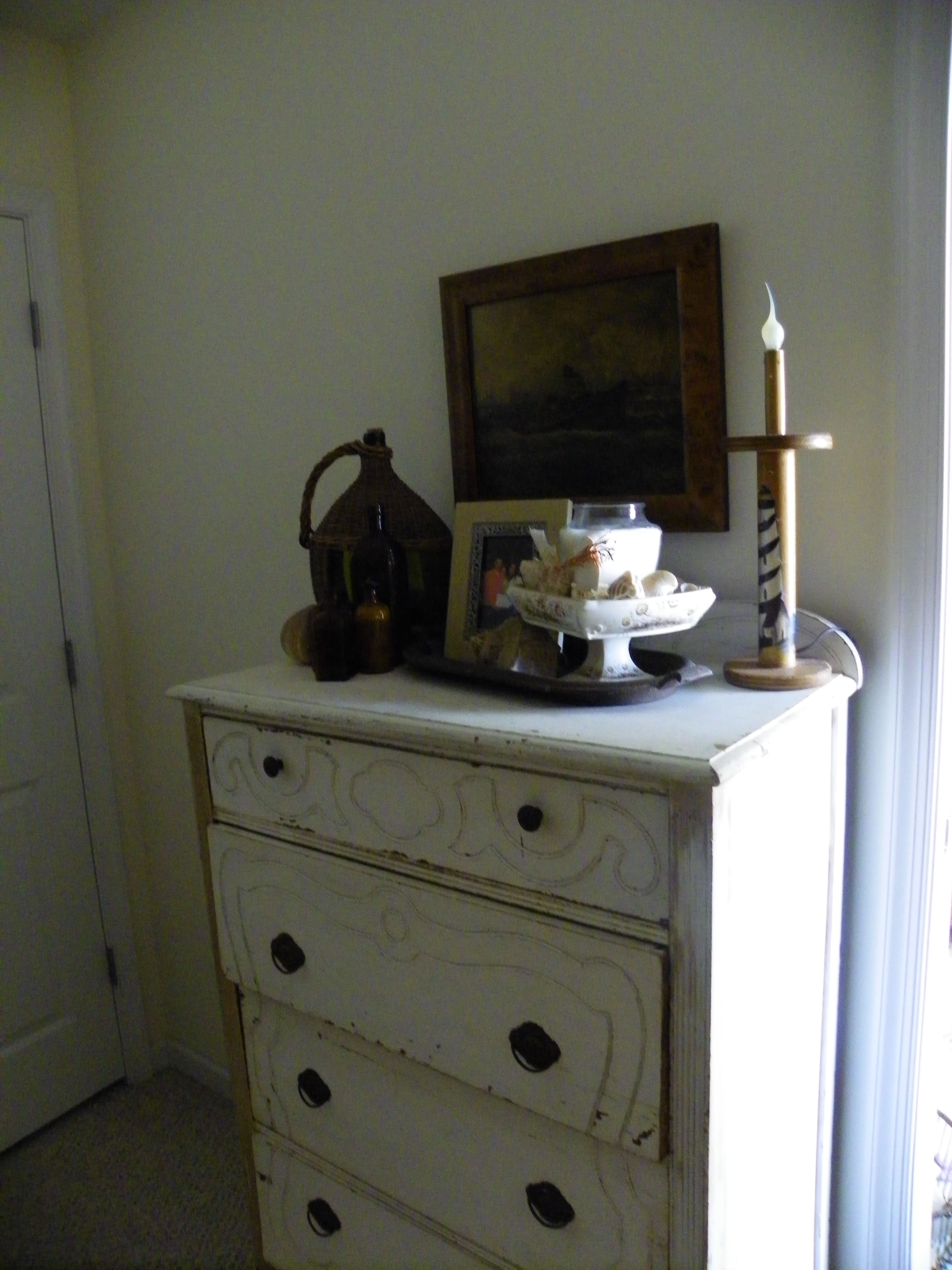 Dresser I Bought At Kats Antiques While Working Therei Never