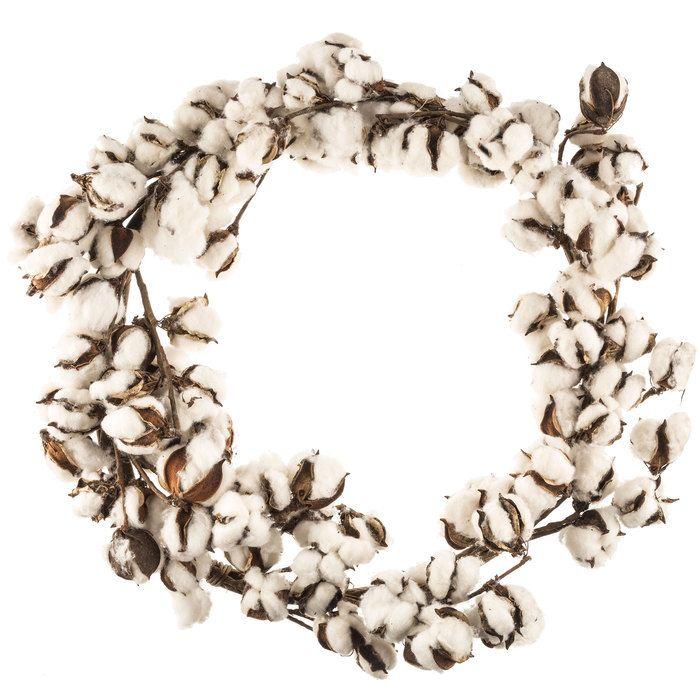 Cotton Bolls Wreath Cotton Wreath Decor Home Decor