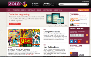 """Zola E-book Store Puts Publishers Up Front"" by Andrew Wilkins"