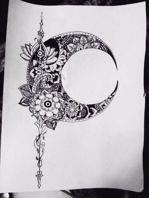 Pin By Janet Groom On Tattoos Art Tattoos Moon Tattoo Tattoo