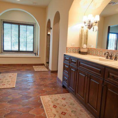Bathroom Saltillo Tiles Design Ideas