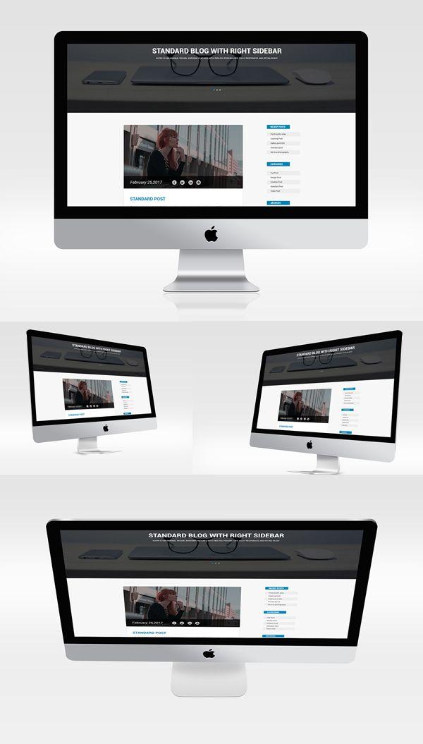 Multiview I Mac Mockups Psd Free Mock Ups Pinterest Mockup