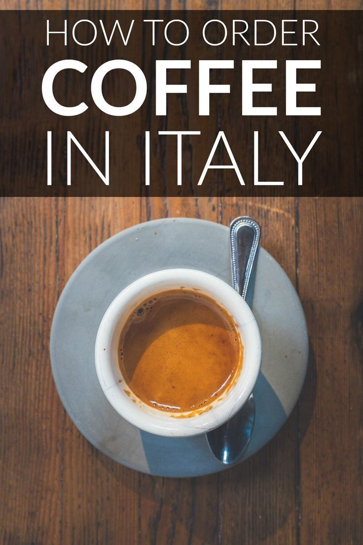 English In Italian: Learn How To Order Coffee Like An Italian, Rule #1 Is