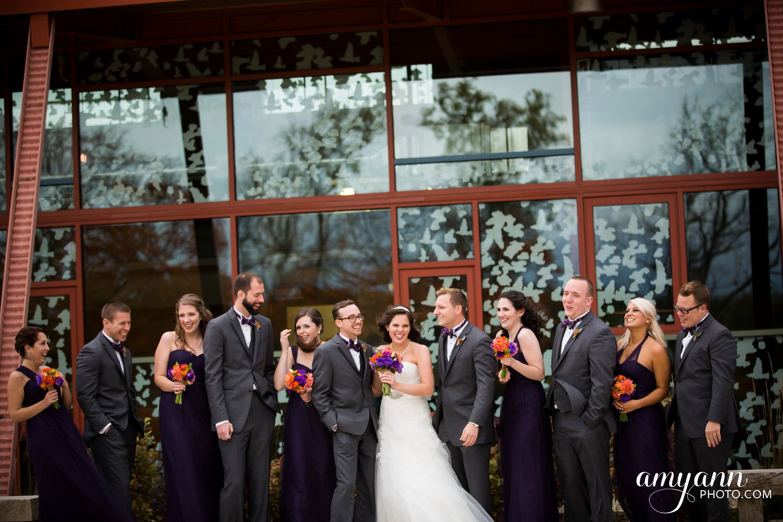 outdoor wedding ceremony sites in akron ohio%0A Melissa   Anthony  Columbus Ohio Fall Wedding at St  Brigid of Kildare  Church