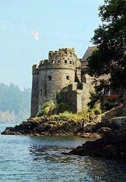 Dartmouth castle in Devon