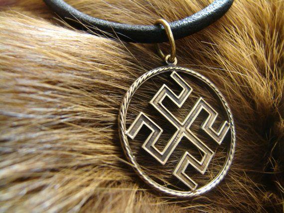 Bogovnik slavic pendant, Pagan jewelry, Norse jewelry, Slavic amulet
