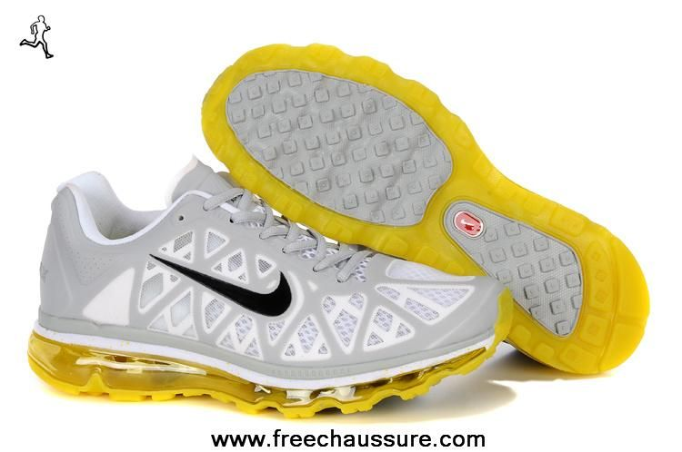 womens nike air max 2011 netty 429890-070 hommes pure platinum sonic jaune blanc anthracite nike ...