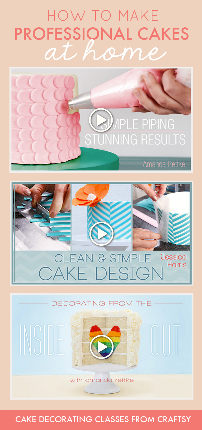 This Skill Sharing Site Offers Hundreds Of Cake Decorating Classes To Help  You Create Professional