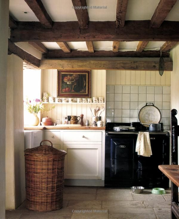 Country Kitchen From Perfect English By Ros Byam Shaw