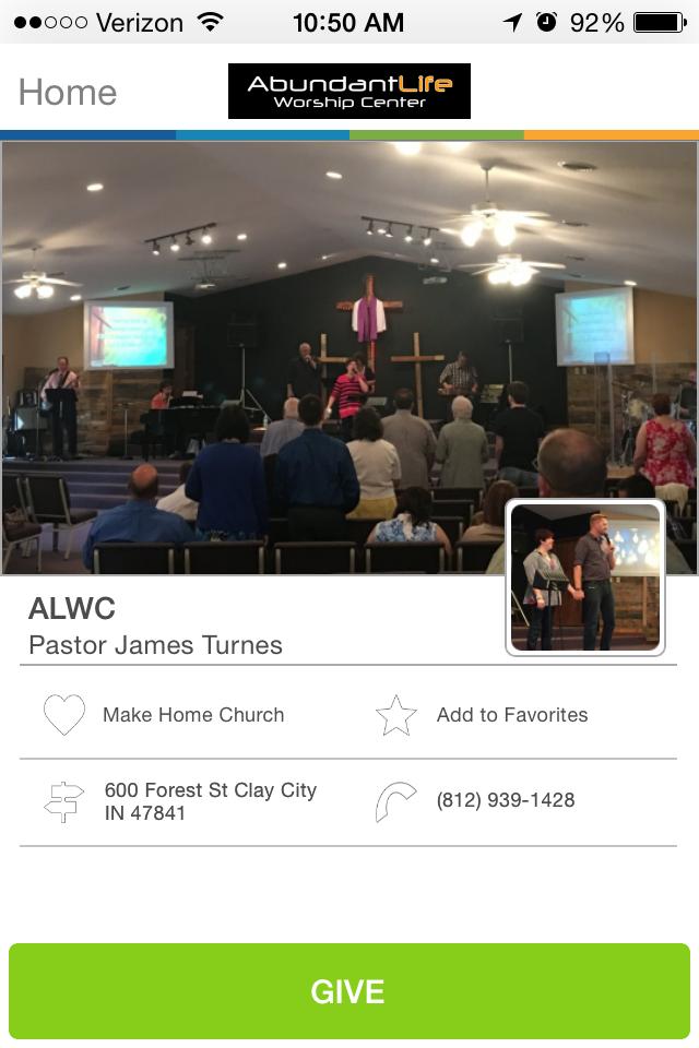 Abundant Life Worship Center in Clay City, Indiana