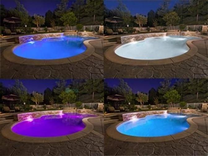 Pool Tone Color Led Spa Light Bulb 1900 Lumens 12v Rgb For Hayward Pentair Lights Pool Light Led Pool Lighting Pool Lights