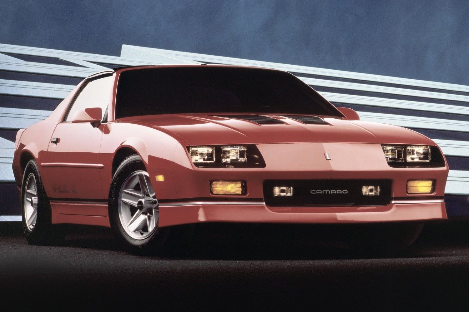 Chevy s trashy camaro iroc z may be the next big collectible says bloomberg