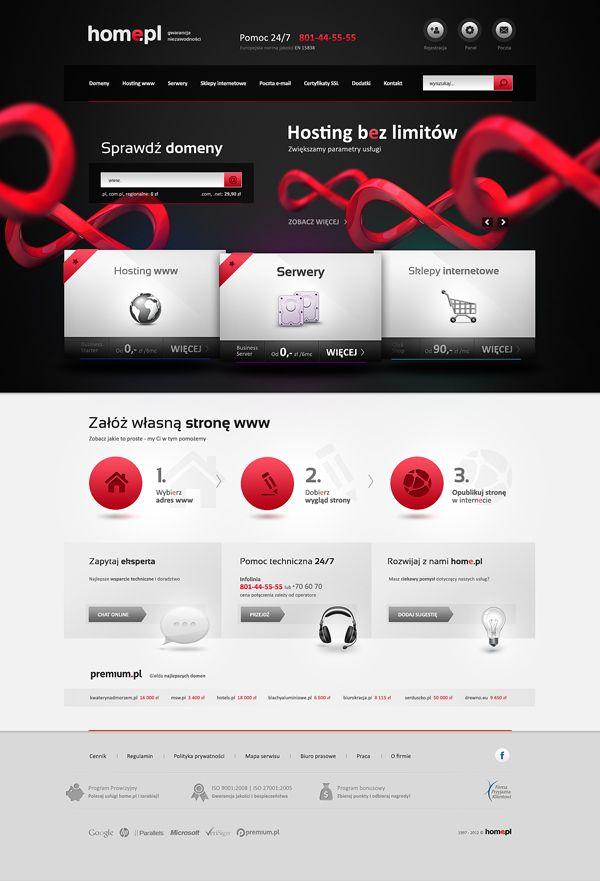 Homepl Hosting Design Web Design Creative Website Design Creative Website Design Inspiration