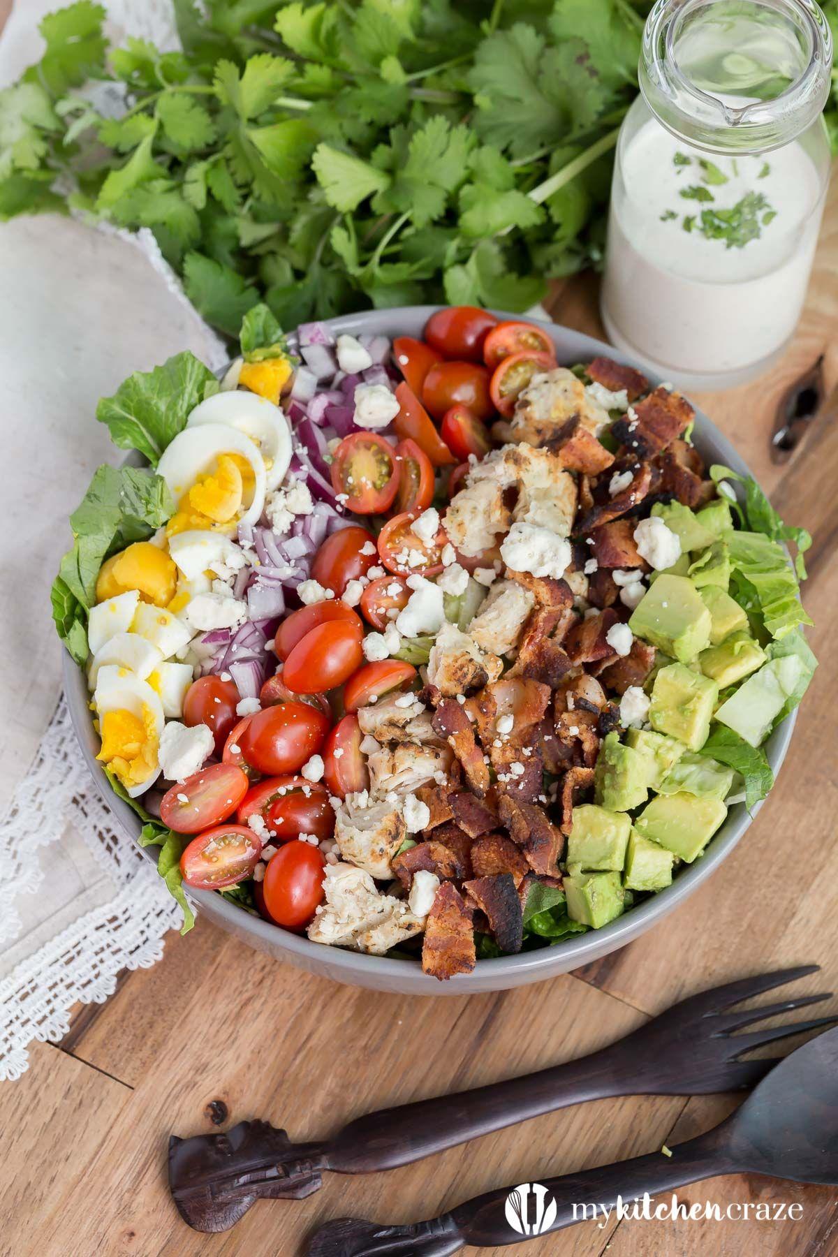Cobb Salatası Nasıl Yapılır Resimli Tarif