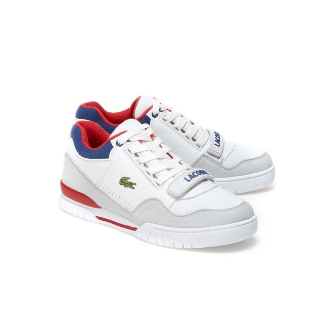 fbe009b3195 Sneakers Missouri Lacoste LIVE en cuir
