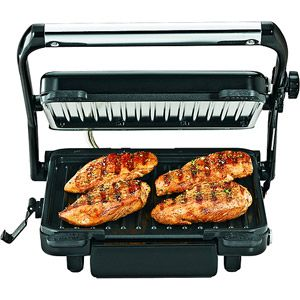 Hamilton Beach 85 Contact Grill Walmart 35 00 This Is Nice And Big To Grill With Indoor Grill Grilling Wing Recipes