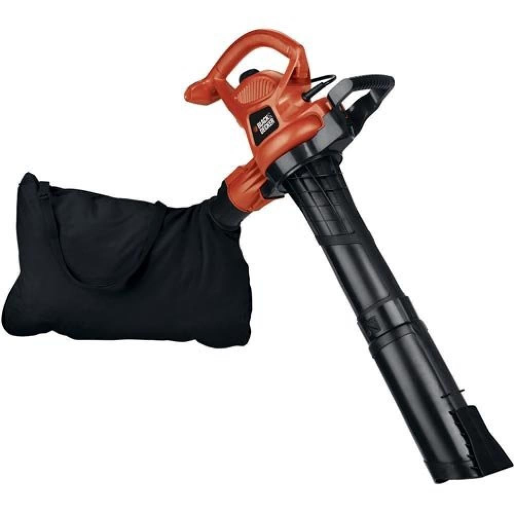 Black Decker Bv5600 High Performance Blower Vac Mulcher Black Decker Electric Leaf Blowers Bags Of Mulch
