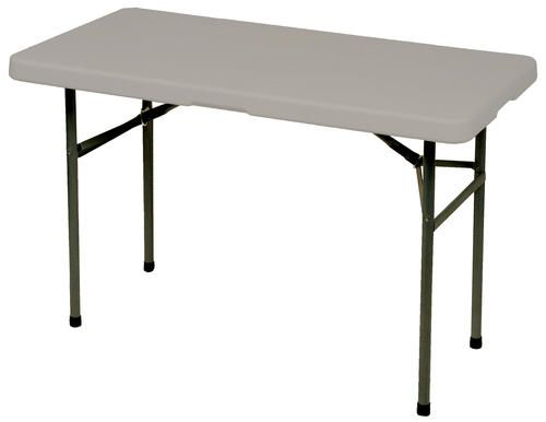 4 Ft Rectangular Banquet Table At Menards 19 99 Sale Price Table Folding Table Home