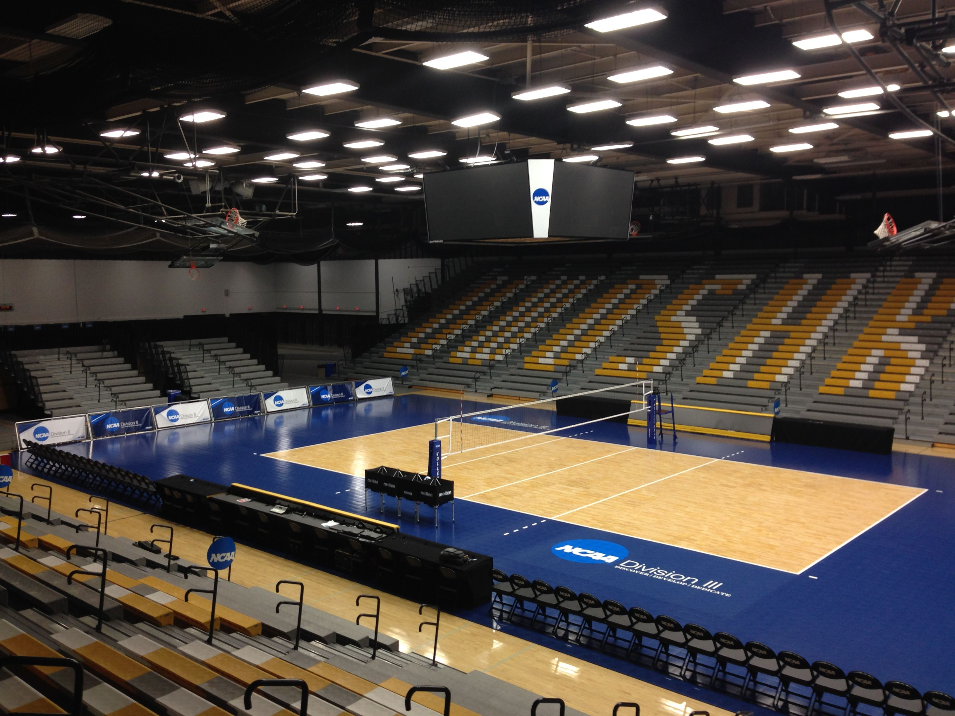At The Center Of The Ncaa Division Iii Women S Volleyball Championship Ncaavb Women Volleyball Volleyball Ncaa