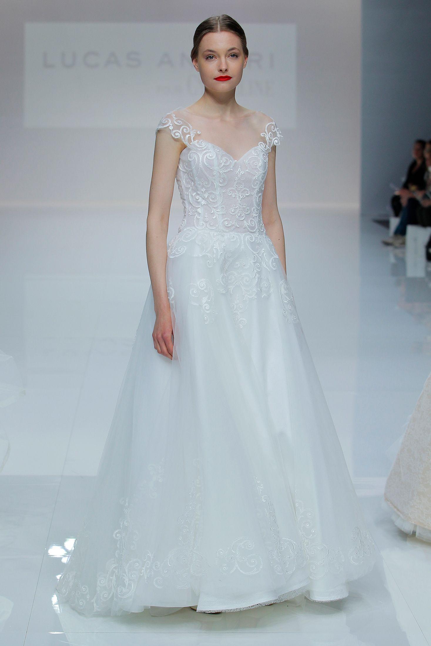 Beautiful Vestidos Novia Luna Picture Collection - All Wedding ...