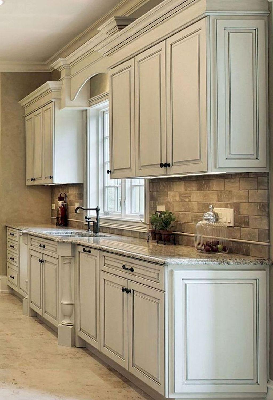 Nice 30 Fresh Kitchen Cabinet Remodel Ideas Https Centeroom Co 30 Fresh Kitchen Cabinet R Antique White Kitchen Kitchen Design Antique White Kitchen Cabinets