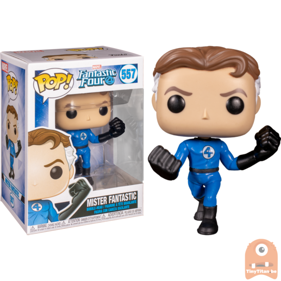 Marvel vinyle quatre FANTASTIQUES Mr FANTASTIC Figure #557 Funko Pop