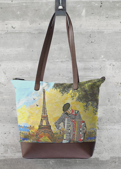 Statement Bag - Paris by VIDA VIDA sNyWr