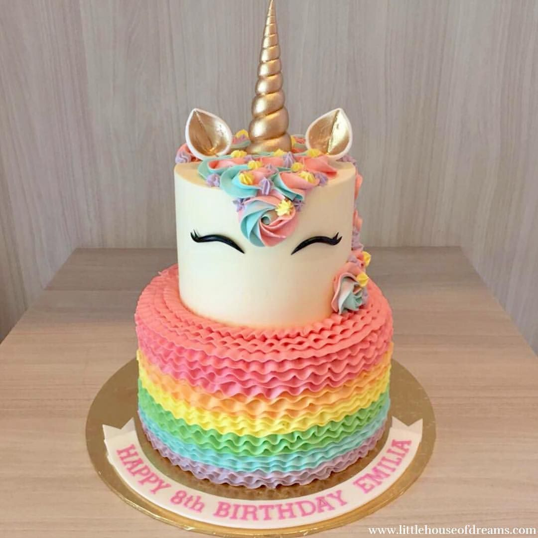 A Unicorn Cake Is Always A Good Idea Good Morning