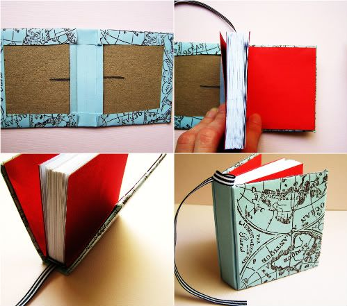 Make a mini Jotter book