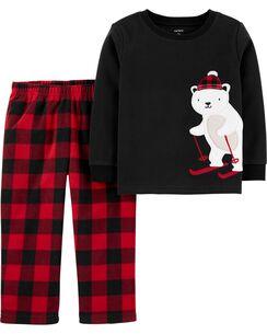 Disney Cars Pyjama dhiver en Polaire pour Enfant