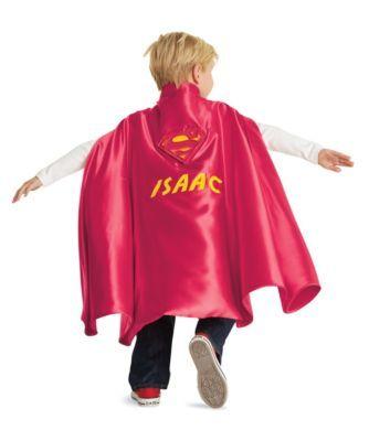 Boys Personalized Superman Cape