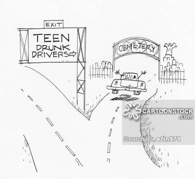 this cartoon holds a lot of meaning in such a simple drawing it  impaired driving essay drunk driving cartoons and comics funny pictures from cartoonstock