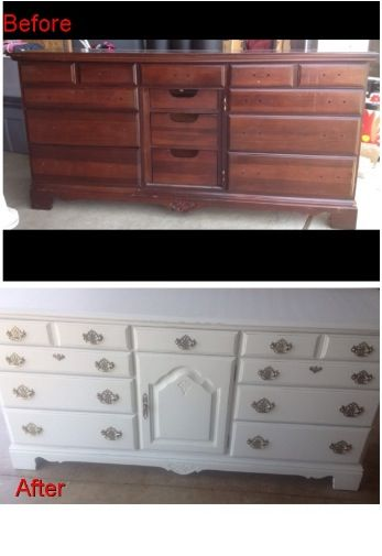 A Kincaid Dresser That I Picked Up And Gave It A New Look Emma S