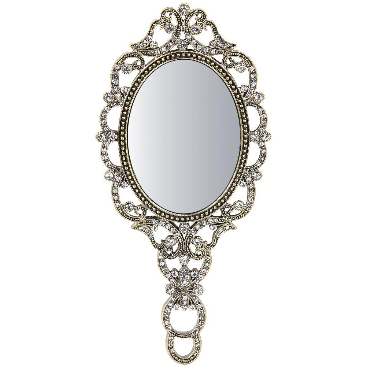 Hand Mirror By Gothic